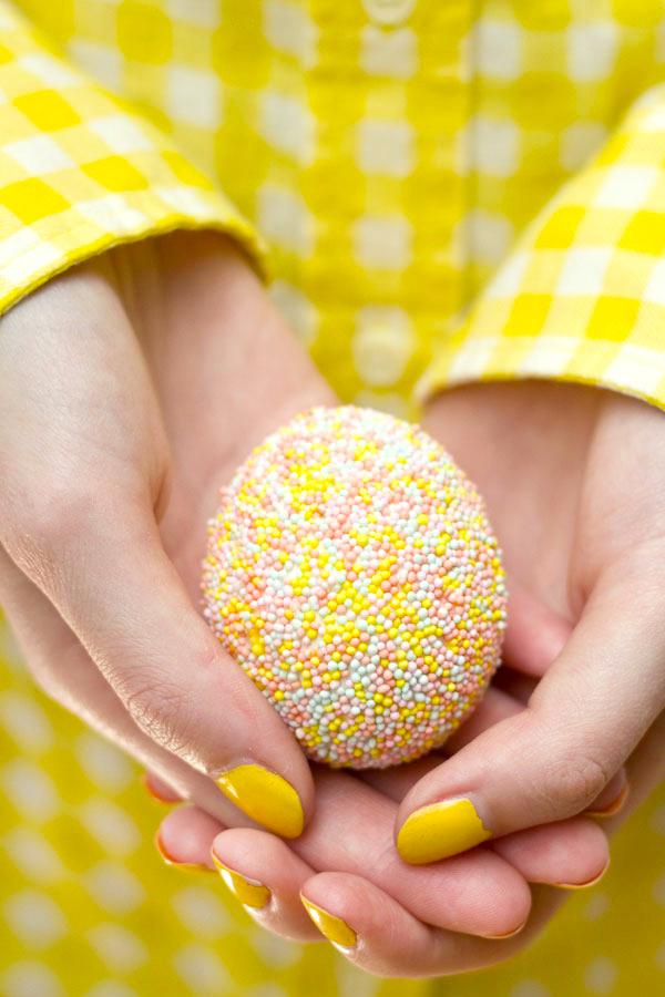 Sprinkle Easter Egg DIY