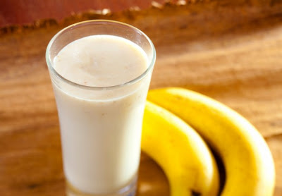bananas and milk