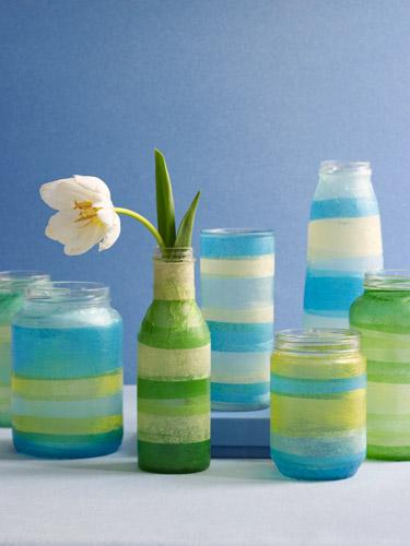 -------------------------------------------------------------DIY vase decoration 5 3