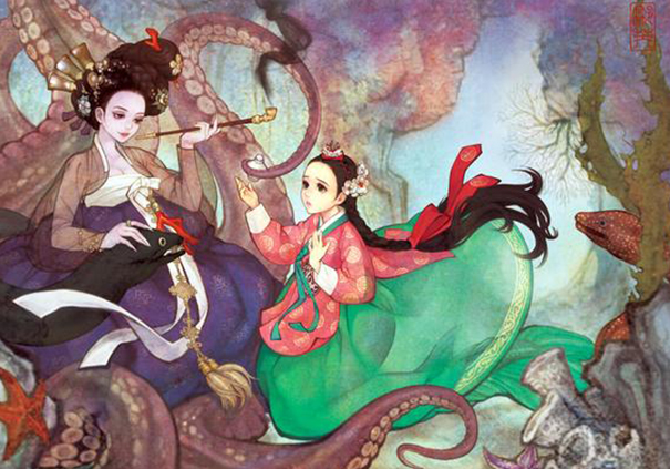 1asian-korean-disney-remake-illustration-na-young-wu-12