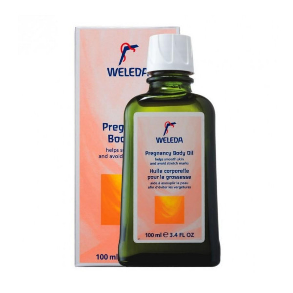 10 weleda body oil 3