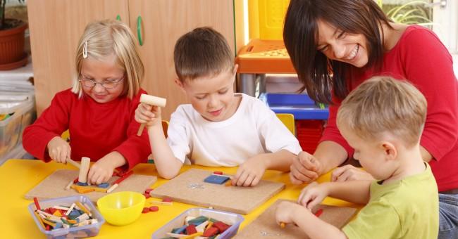 children playing learning school parent teacher