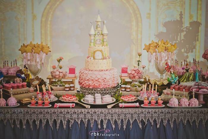 Elegant Princess Birthday Party via Karas Party Ideas KarasPartyIdeas.com14