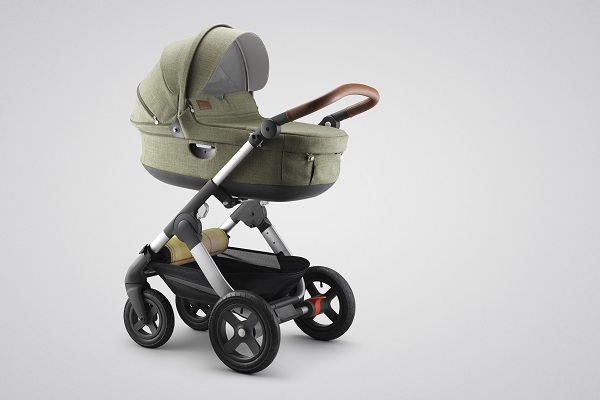 Stokke Trailz Nordic Green Carry Cot 160505 01