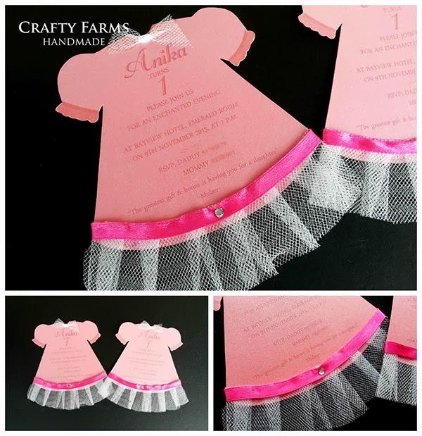pink princess theme birthday party invitation card 00