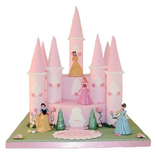 princess castle birthday cake1 600x600