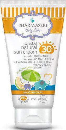 20160304141131 pharmasept tol velvet baby natural sun cream spf30 100ml