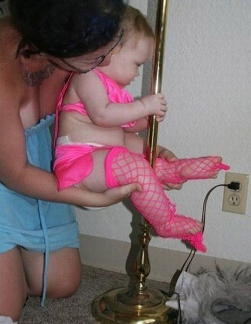 We dont think babies doing pole dancing is any sexy. 1
