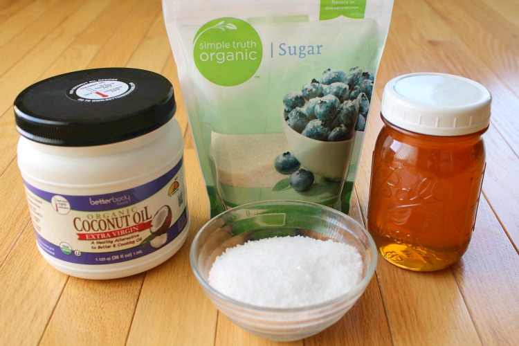 foot scrub ingredients
