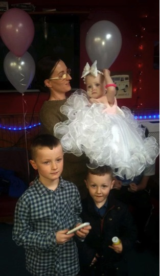 godupdates terminal baby girl poppy mai gets wedding of her dreams 8