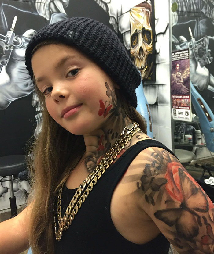 kid tattoos airbrush bejamin lloyd new zealand 3