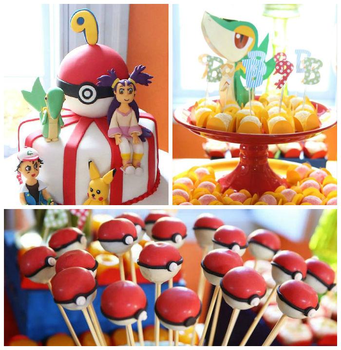 Girly Pokemon Birthday Party via Karas Party Ideas KarasPartyIdeas.com16