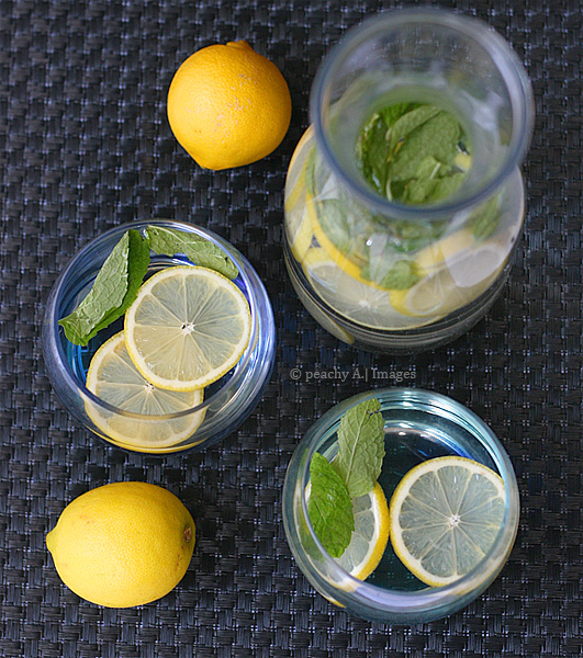 Lemon and Mint Detox Water 54health