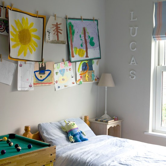 childs room budget design ideas hanging childs paintings Ideal Home