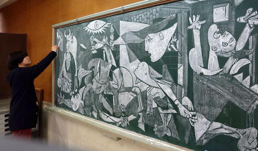 teacher chalkboard art hirotaka hamasaki19