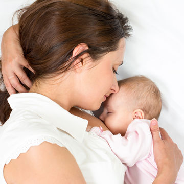 young breastfeeding mother shutterstock 113110369