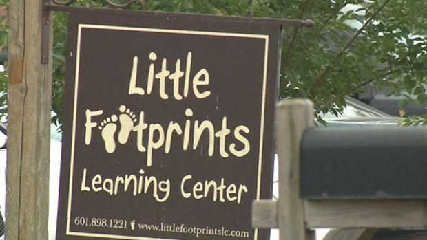 Little Footprints sign