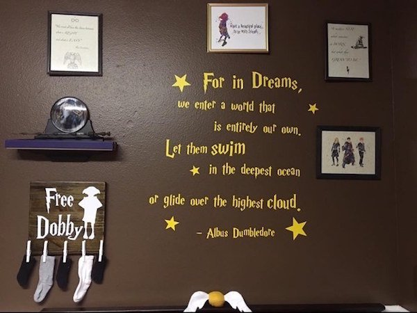 a harry potter themed nursery is proof that some parents really go that extra mile 20 photos 6