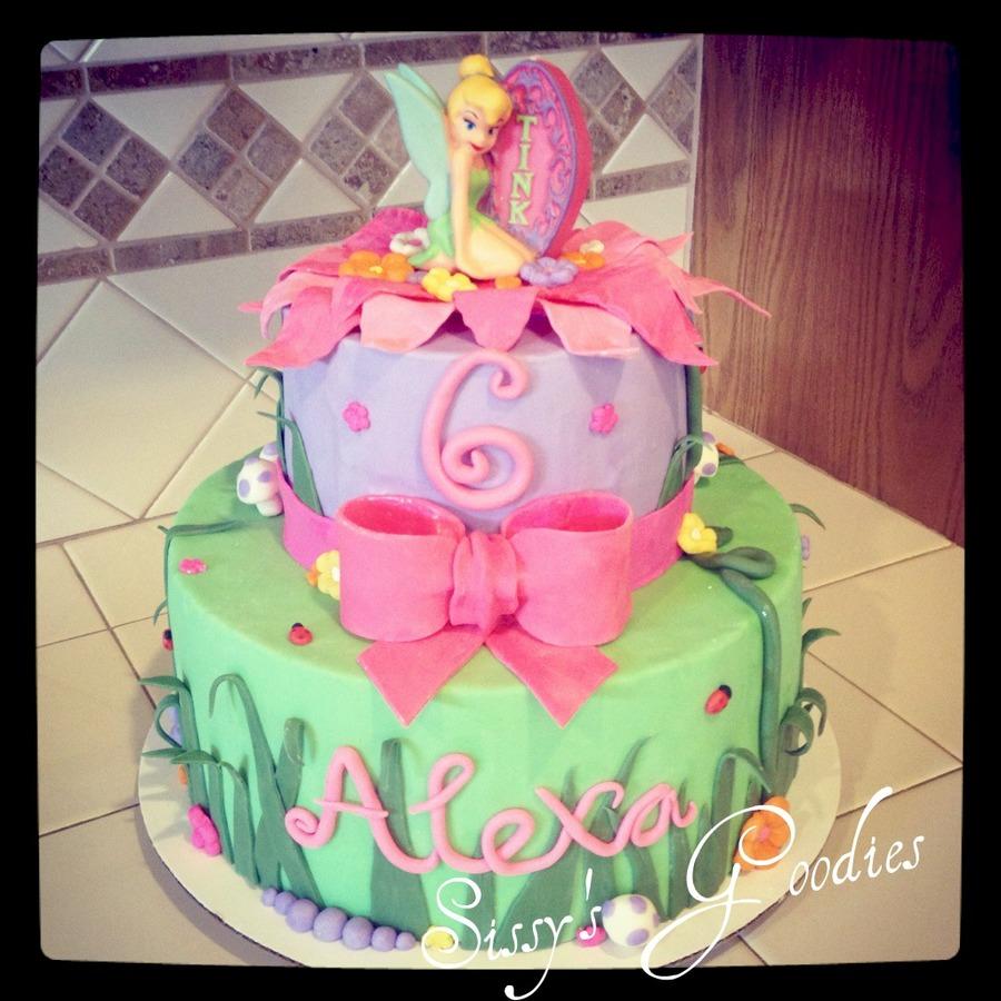 904076GOSm tinkerbell birthday cake 900