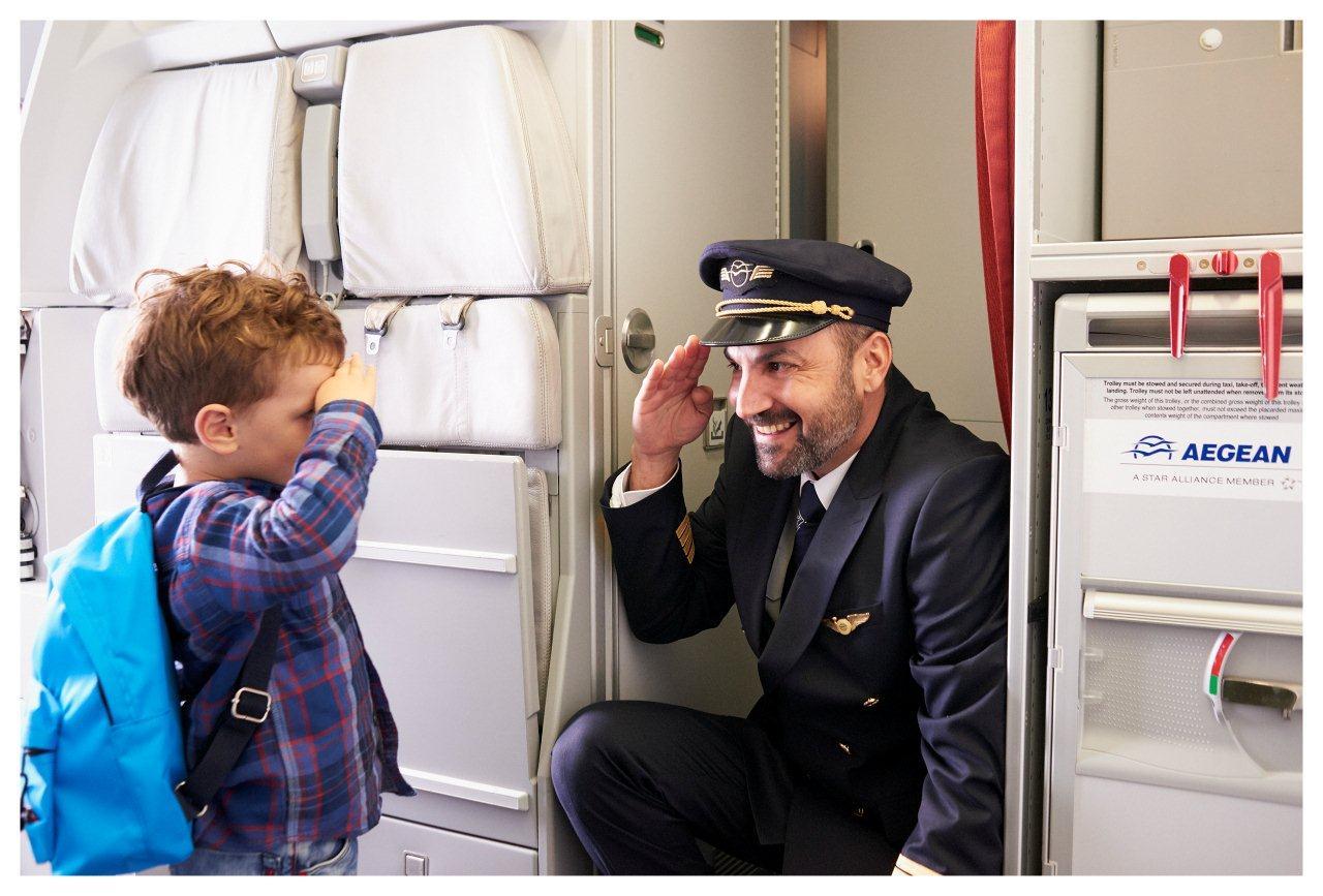 Aegean For Families on board boy low 3