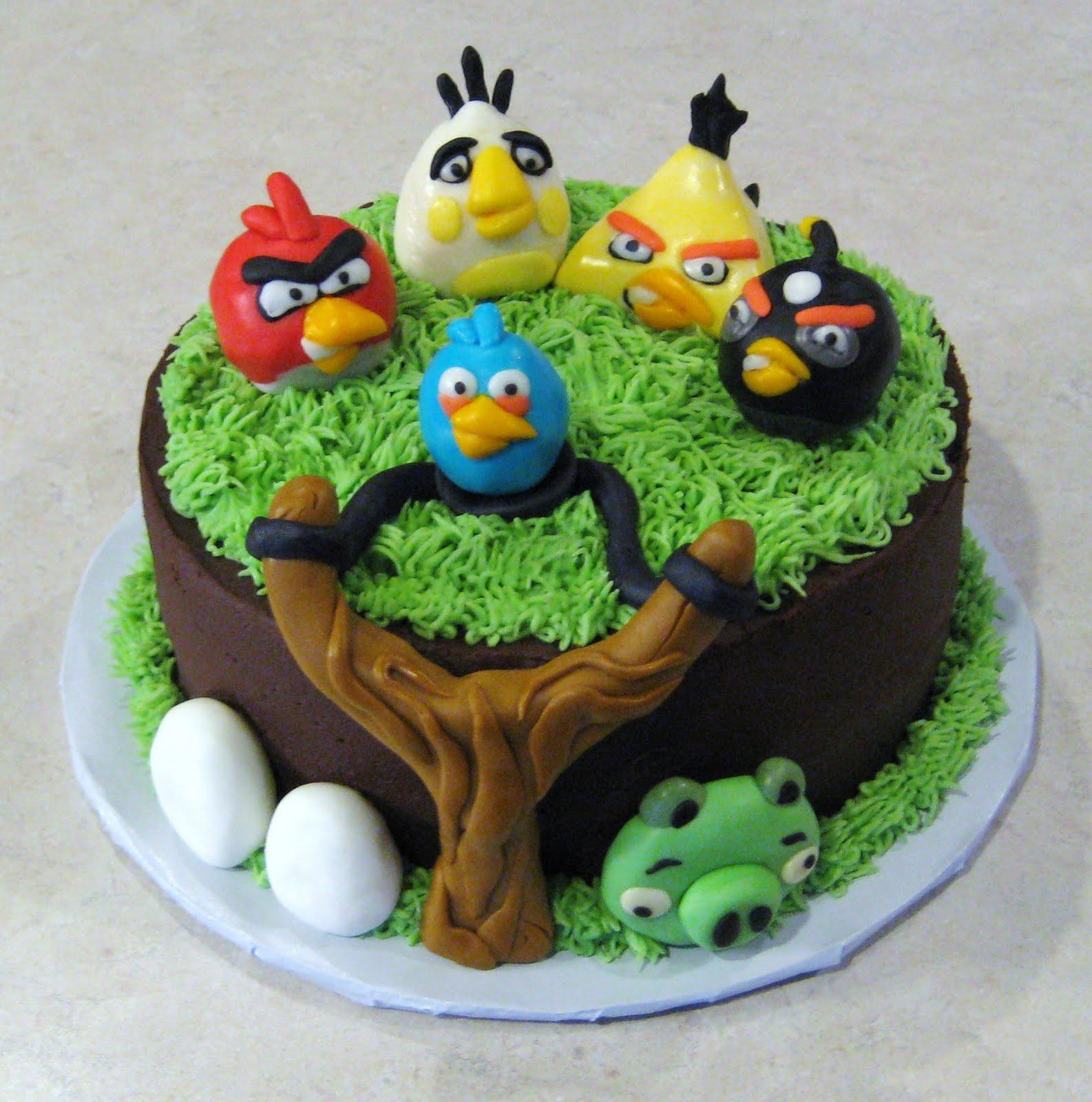 Best Angry Birds Birthday Cake Ideas