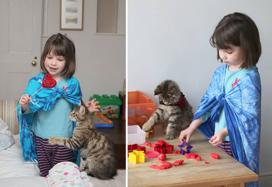 Different is brilliant how a girl and her cat are changing attitudes11 880