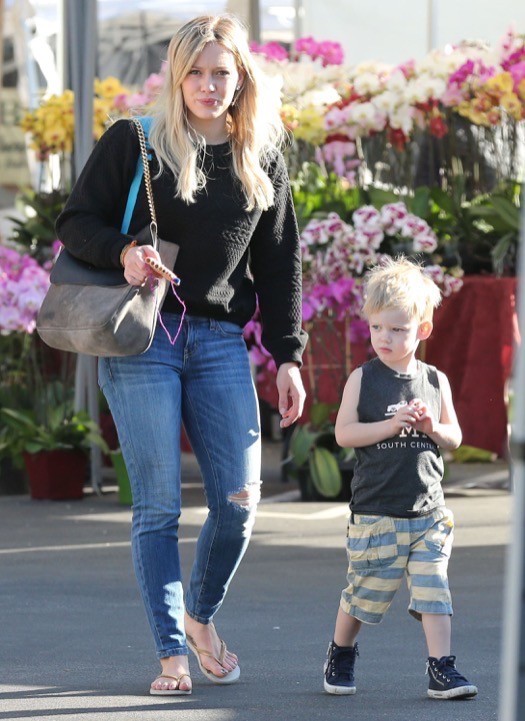 hilary duff haylie luca shopping 1012