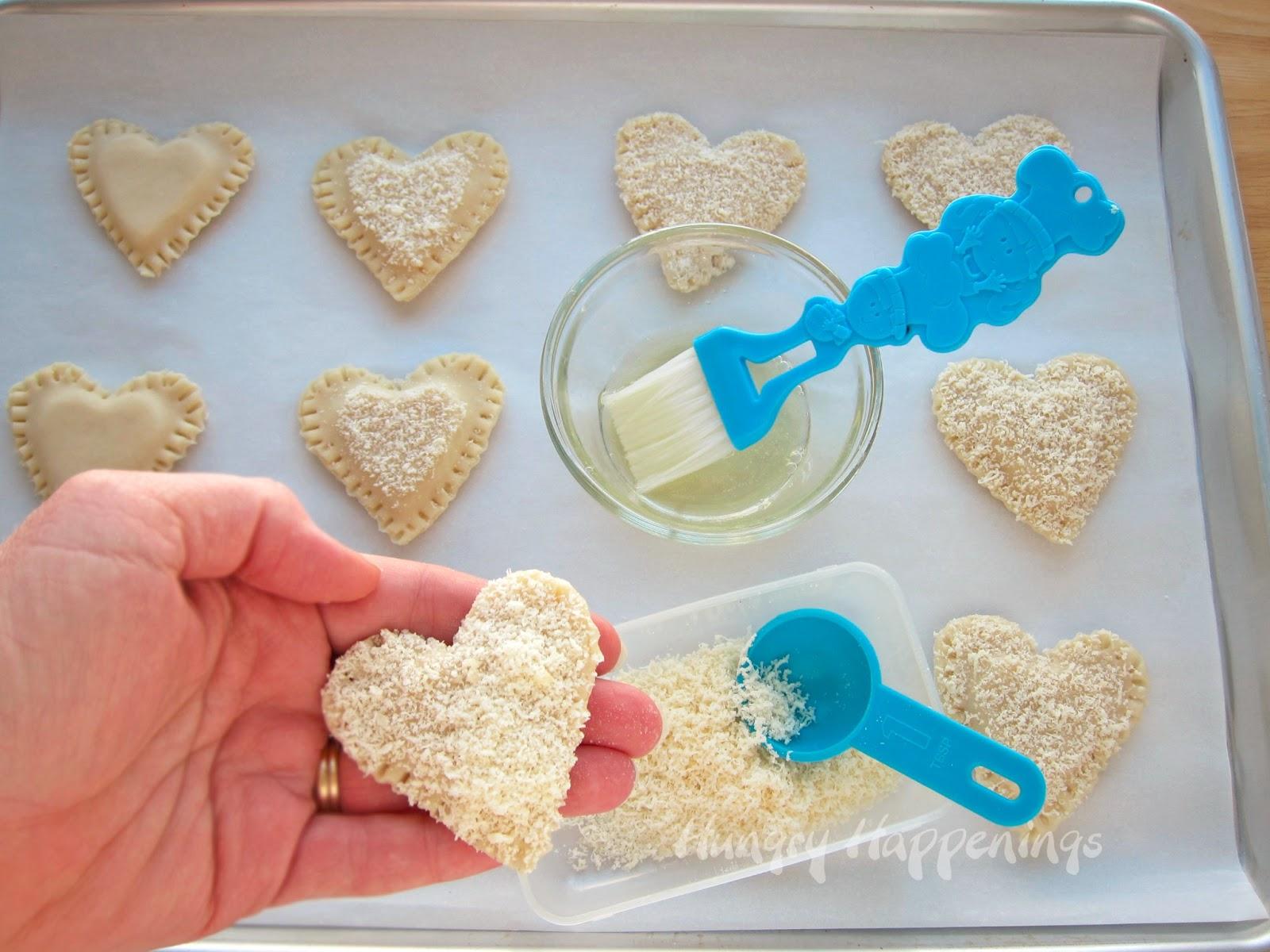 mozzarella cheese tarts Italian recipes Valentines day recipes valentines day recipe