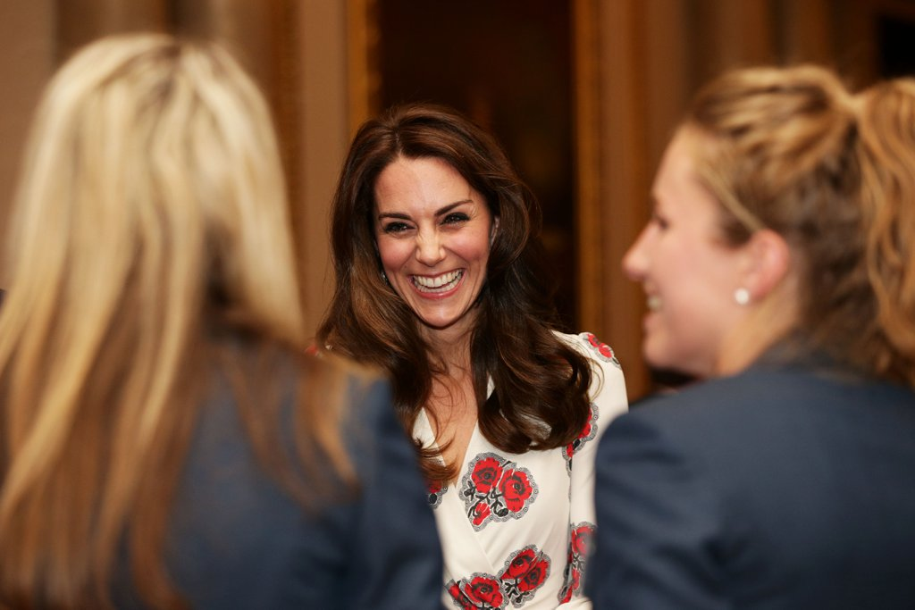 Prince William Kate Middleton Olympic Reception 2016