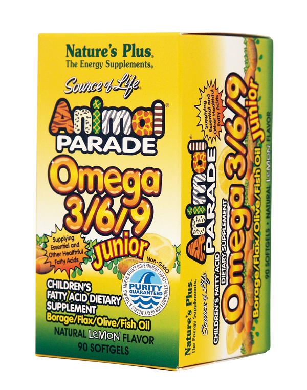 ANIMAL PARADE OMEGA 3 6 9 JUNIOR Box 3