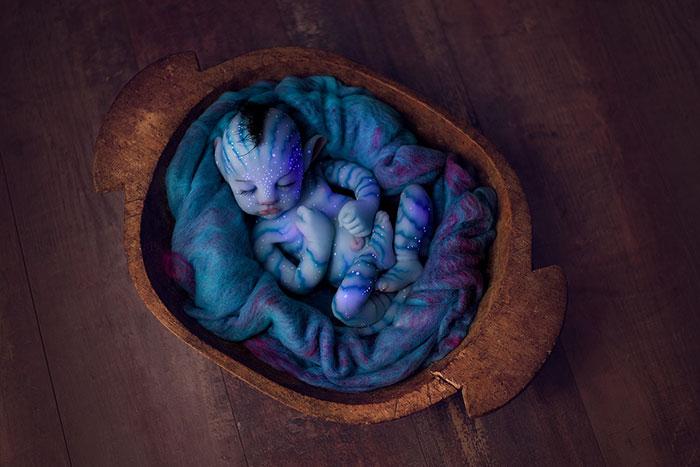 silicone baby avatar babyclon 18