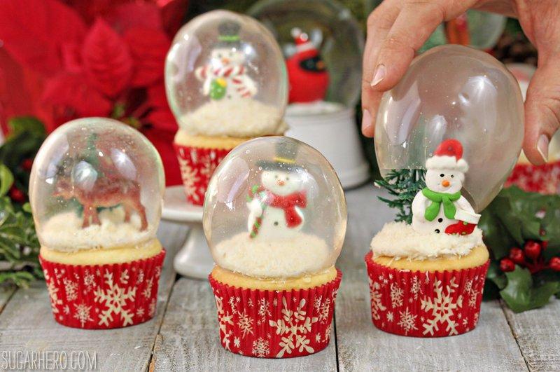 snowglobe cupcakes 7