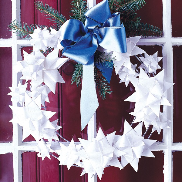 square 550040dc32143 ghk christmas wreath craft decorate paper stars s2