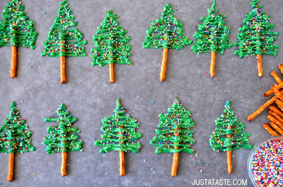 christmas tree cupcake topper recipe