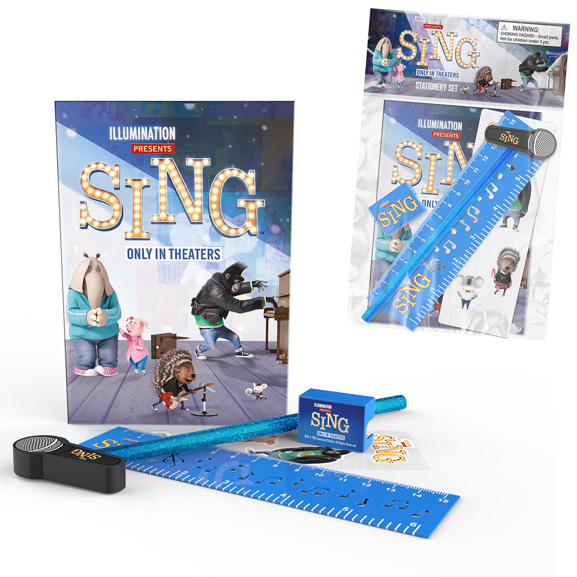 SING Stationery Set Web 3