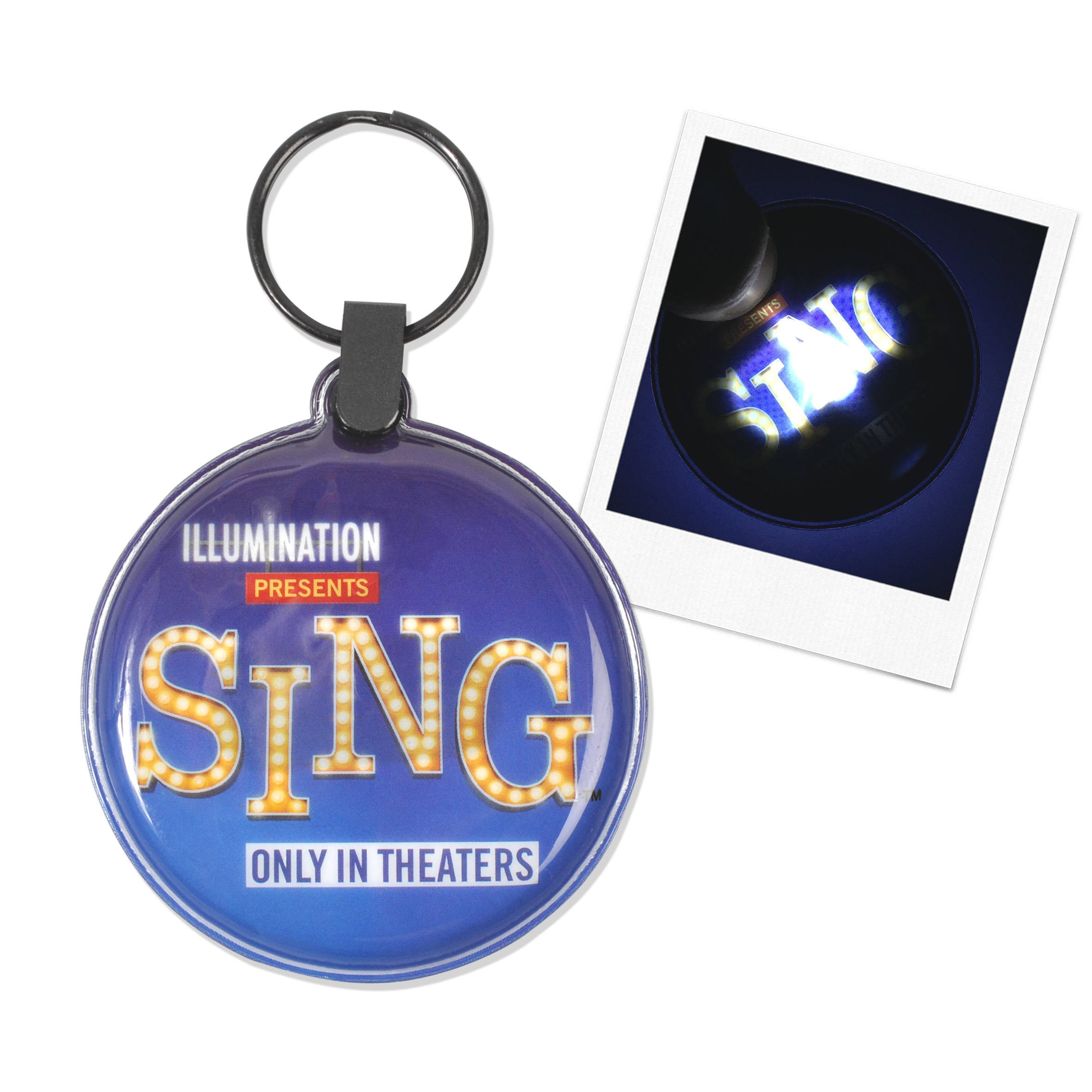 Sing Keychain Light Up V4 3
