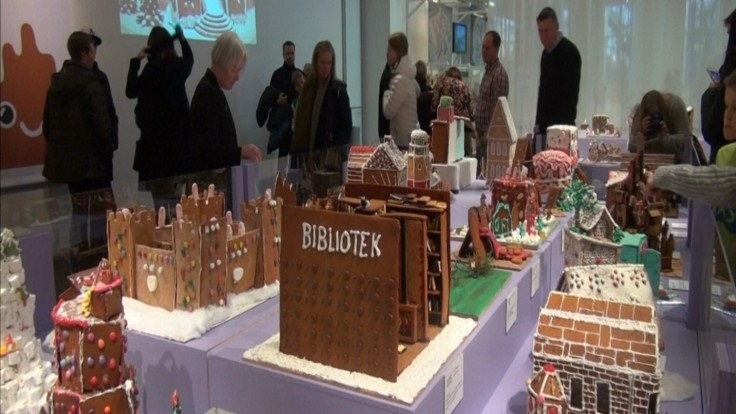 swedens architects host annual gingerbread competition