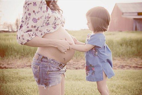 cute girl happy pregnant women Favim.com 400406
