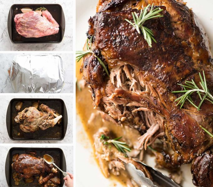 Slow Roasted Lamb Leg DIY 680x597
