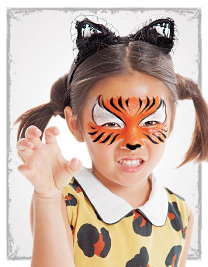 halloween-facepaint-tiger