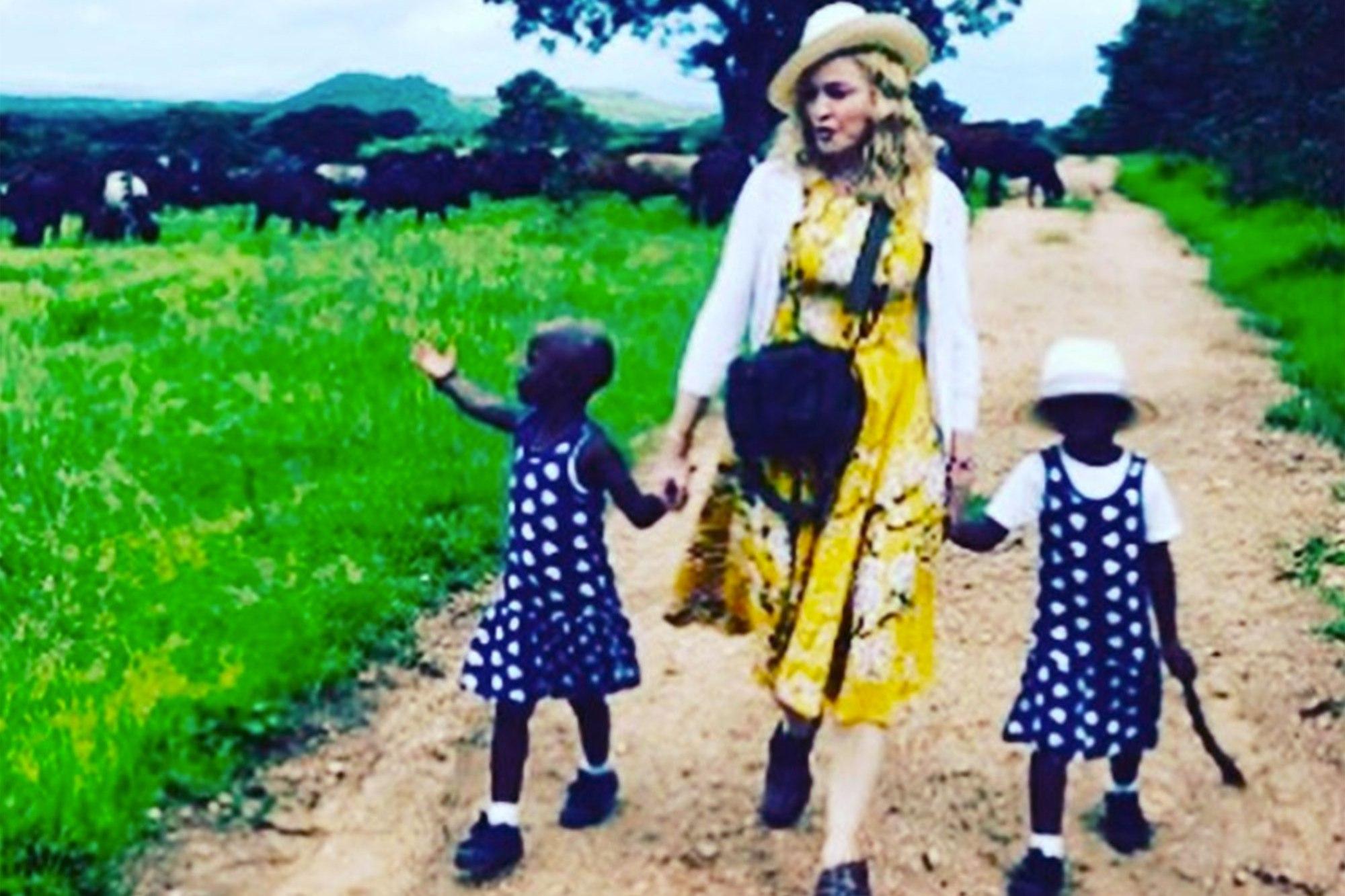 madonna adoption twins