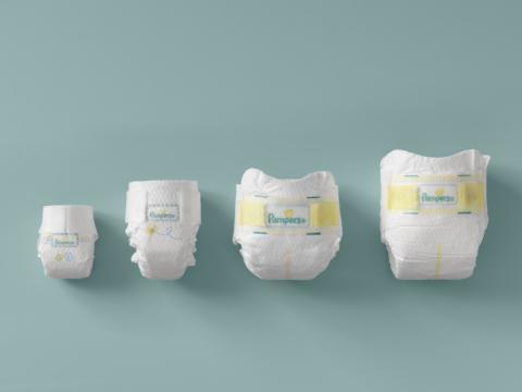 Pampers Preemie Line Up