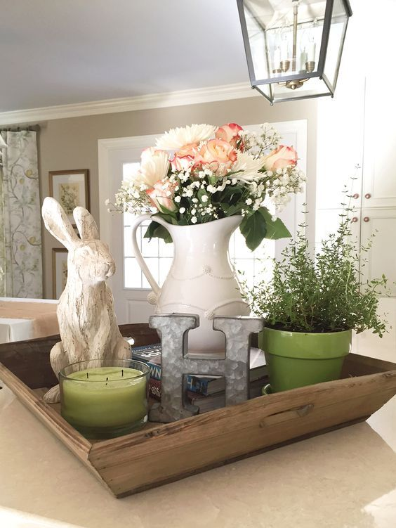 Tray Decoration Ideas Extraordinary 1878 Best Happy Easter Images On Pinterest  Easter Bunny Easter Decorating Inspiration