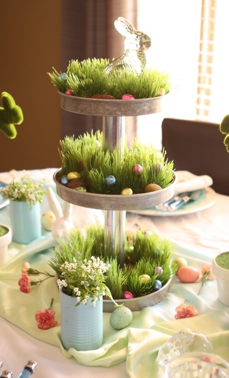 easter table decorations 53