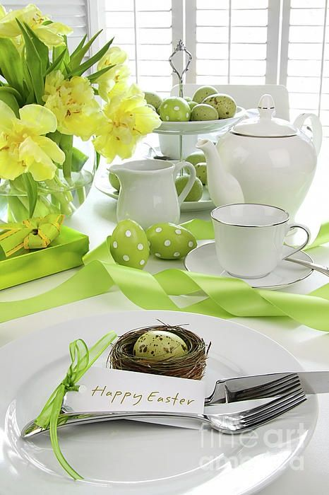 easter table decorations 59