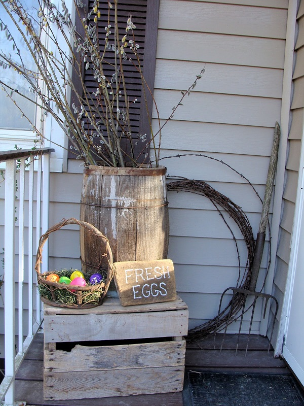 Easter Porch Decor Ideas 11