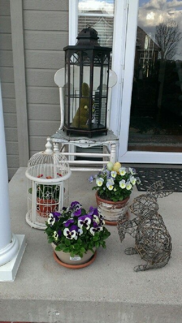 Easter Porch Decor Ideas 16