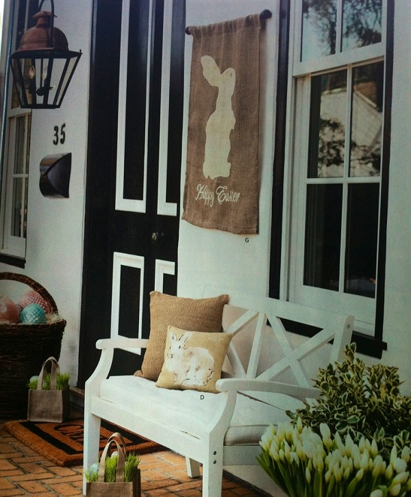 Easter Porch Decor Ideas 4