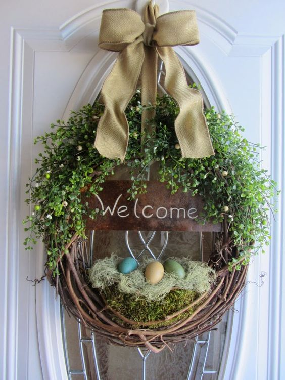 EASTER DOOR DECO 07 2
