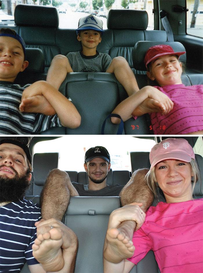 siblings childhood photo recreation 14 58f4b098e82bd 700